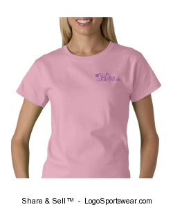 Gildan Ladies Ultra Cotton® T-shirt Design Zoom